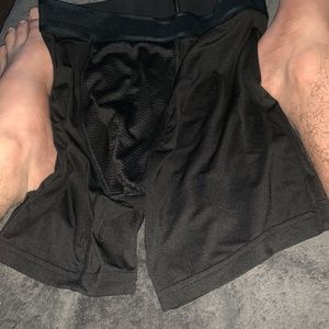worn athletic underwear Blk
